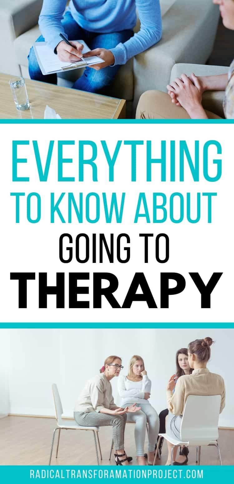 Everything To Know About Going To Therapy
