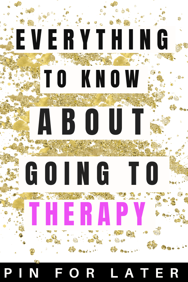 Tips on going to therapy to manage depression and anxiety