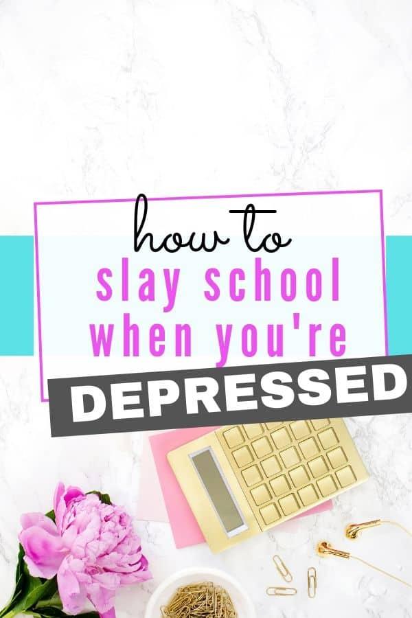 study when depressed
