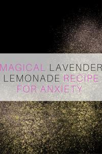 Lavender Lemonade for Anxiety