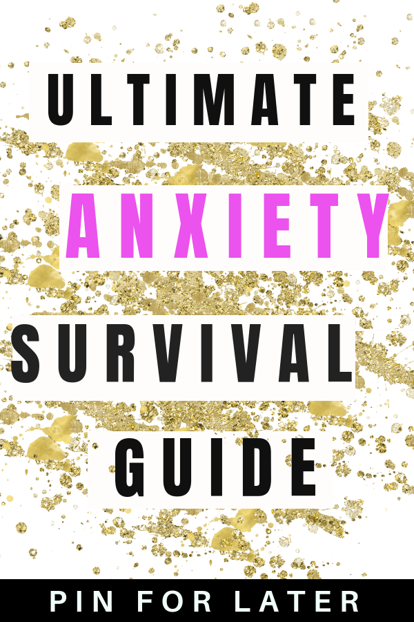 Tips and tricks for coping with and managaing symptoms of anxiety