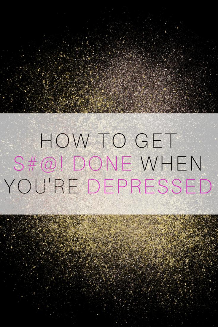 Depression Motivation Tips