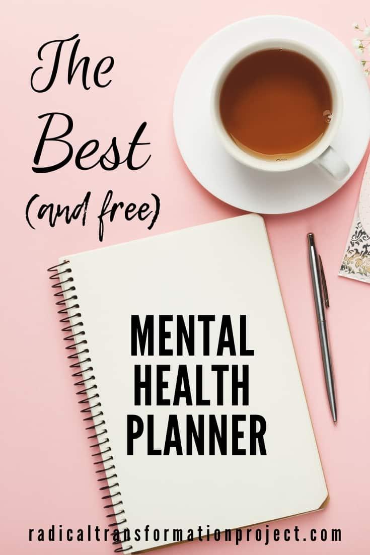 planner for mental health