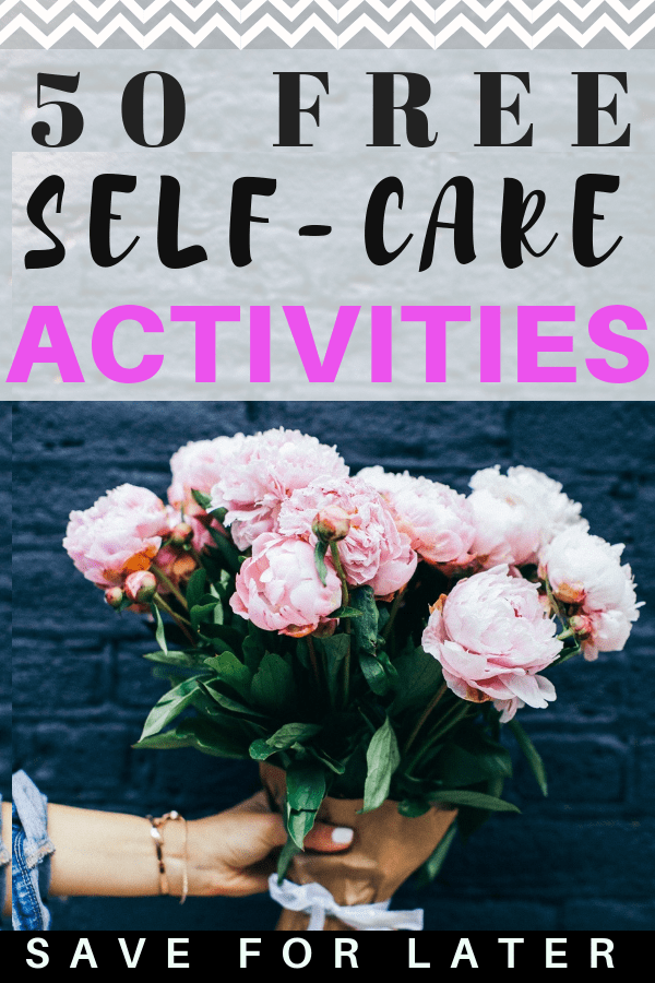 Free self-care activities to help manage your mental health. If you are struggling with depression or anxiety symptoms try these ideas!