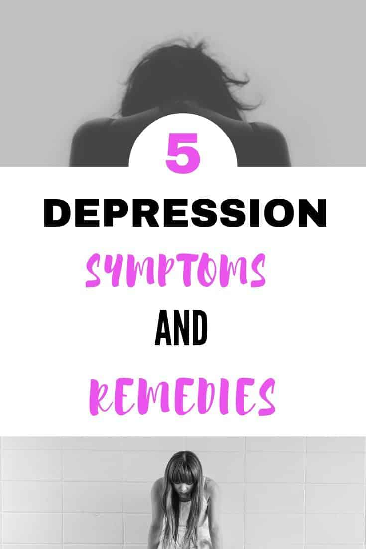 Depression symptoms and remedies