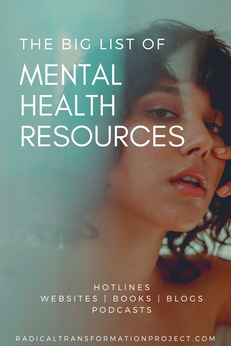 the best mental health resources