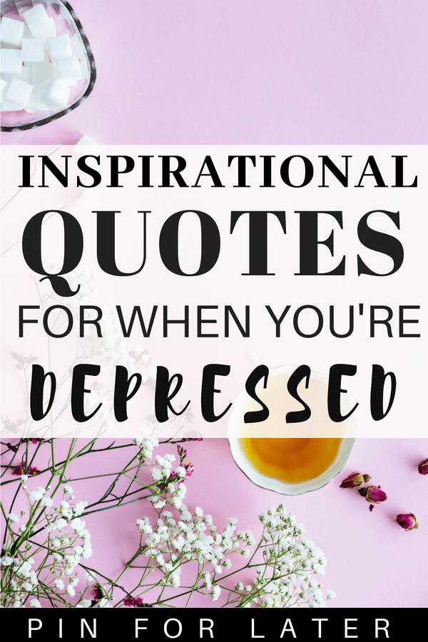 QUOTES FOR PEOPLE WITH DEPRESSION