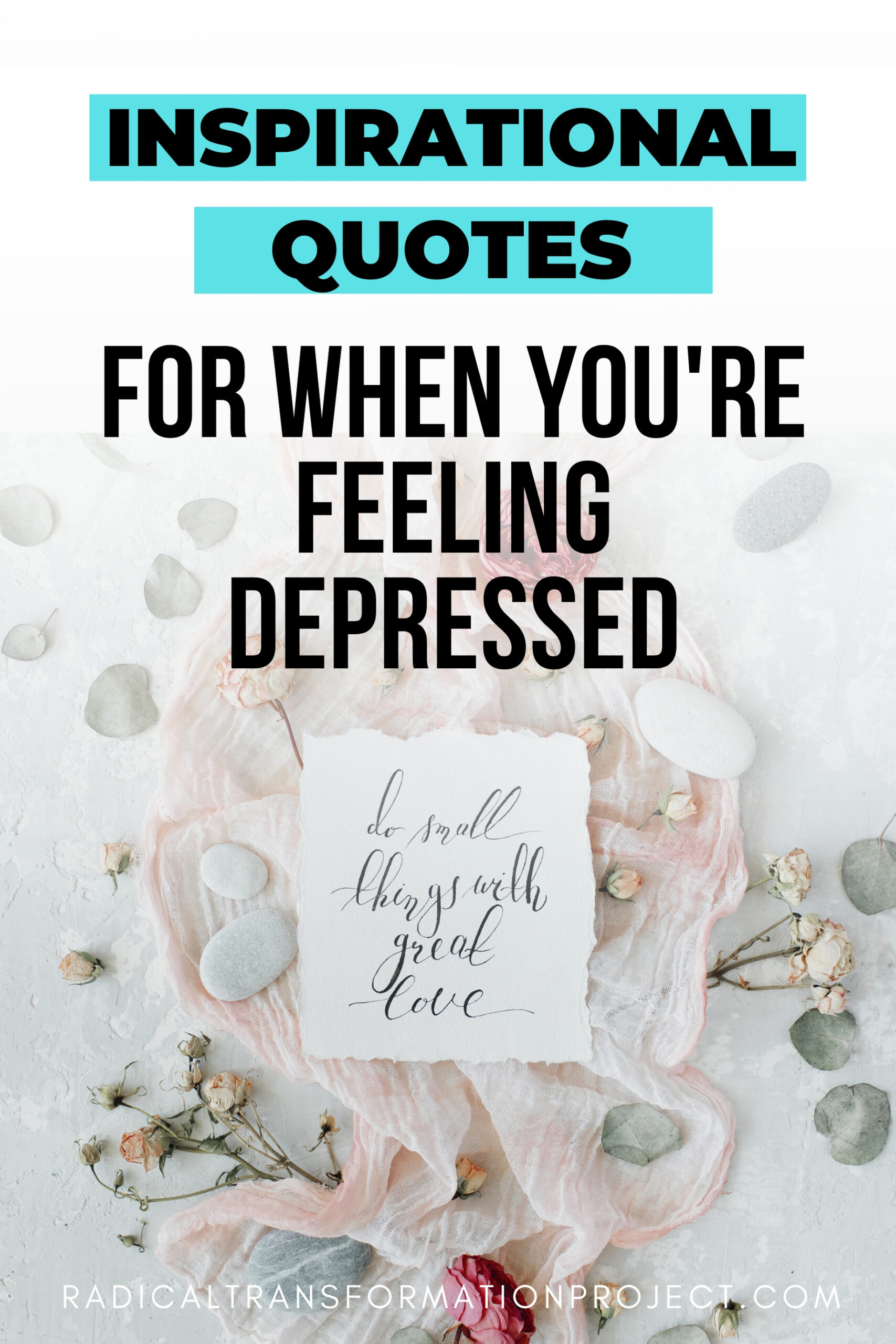 inspirational quotes for when you're feeling depressed