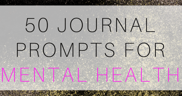 journal prompts for depression and anxiety
