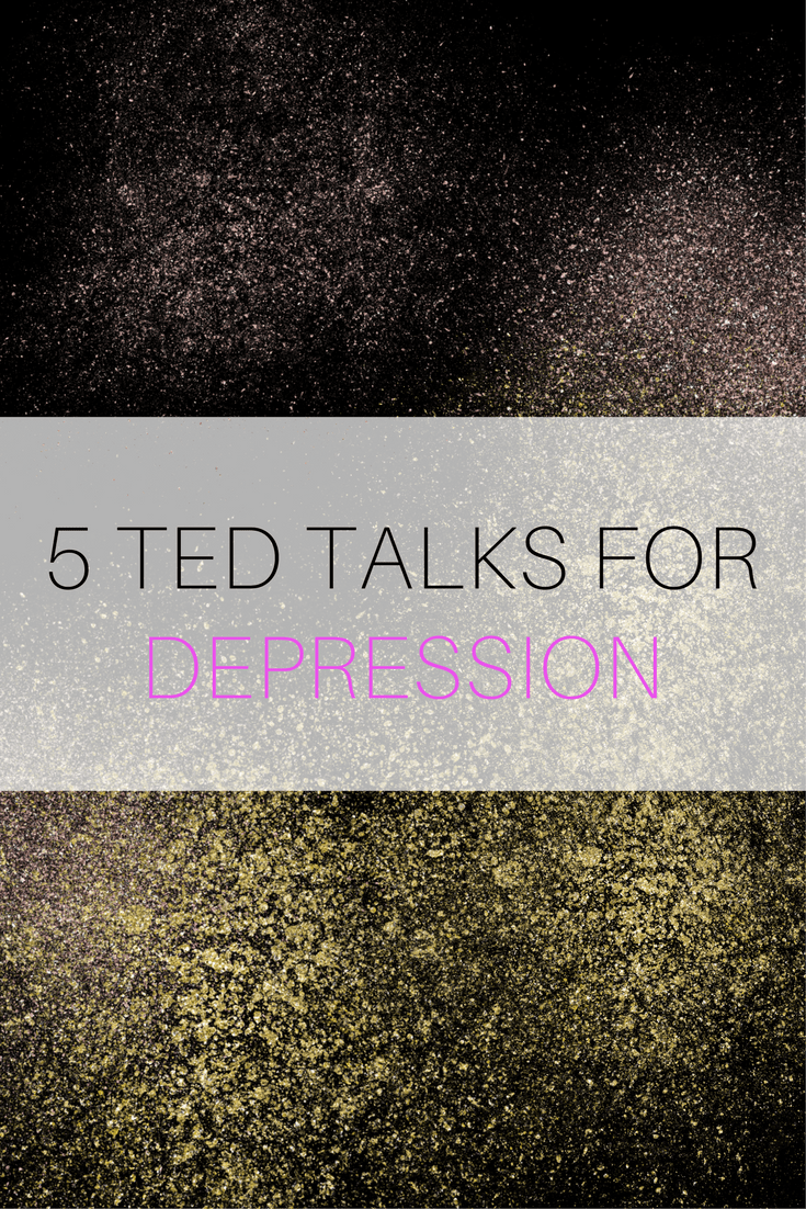 TED TALKS FOR DEPRESSION