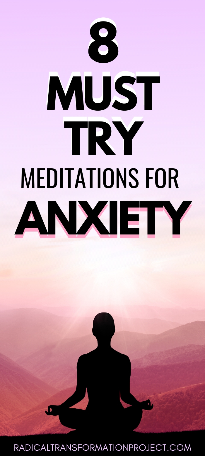 8 must try meditations for anxiety