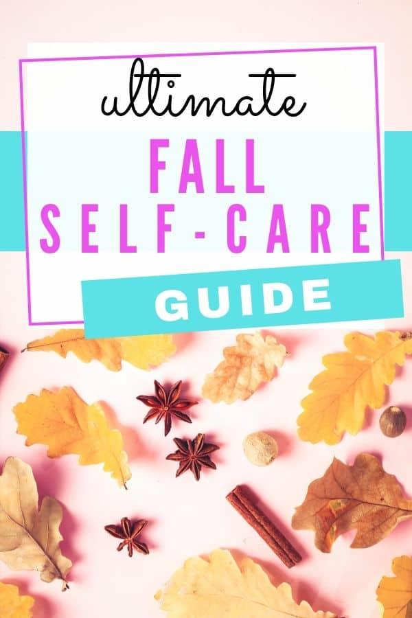 Fall Self-Care Ideas
