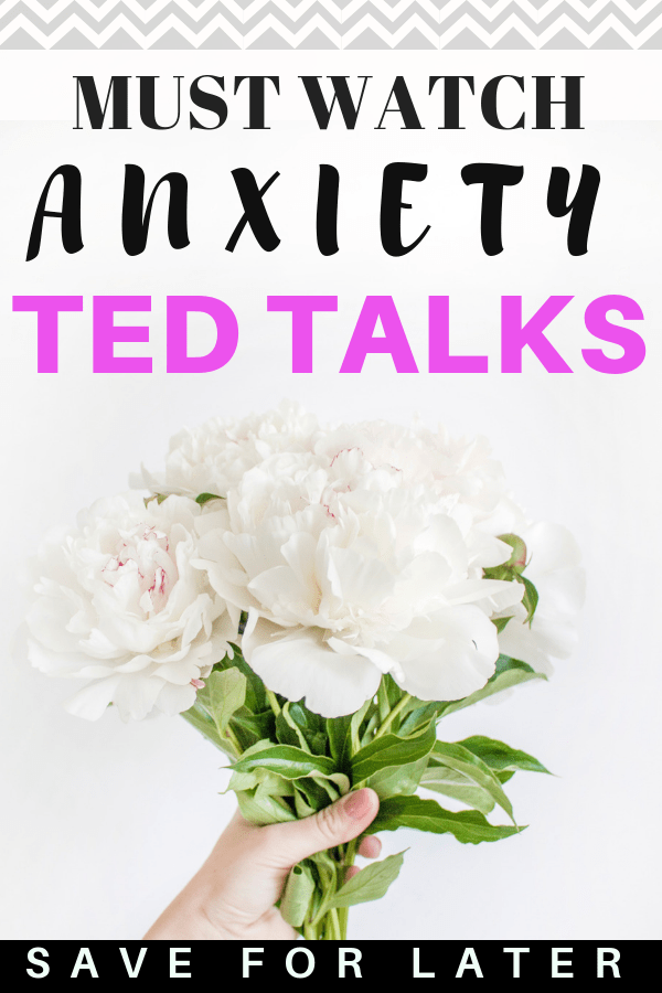 Must watch TED talks to help you manage anxiety symptoms and start recovering #anxiety #mentalhealth #tedtalks