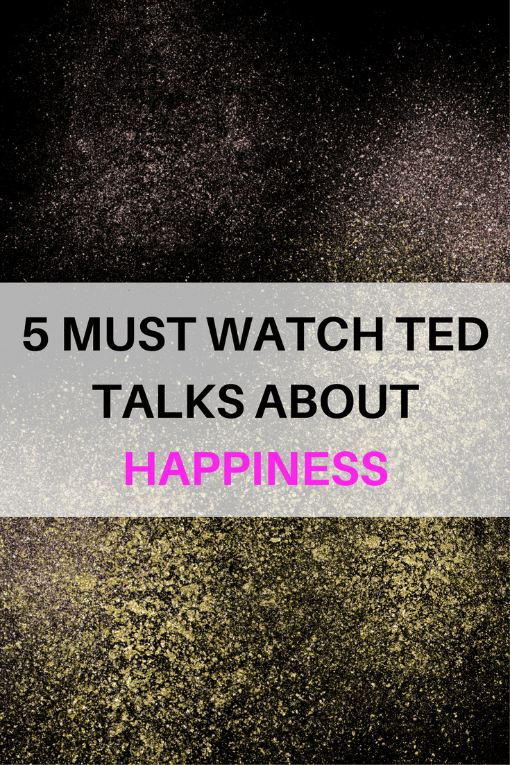 TED talks about happiness