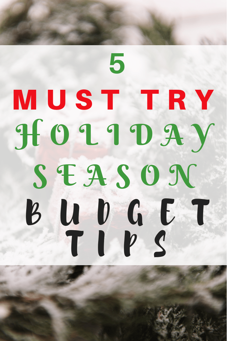 Christmas budget worksheets and tips to help you budget your money this holiday season #christmas #holidays #budgeting