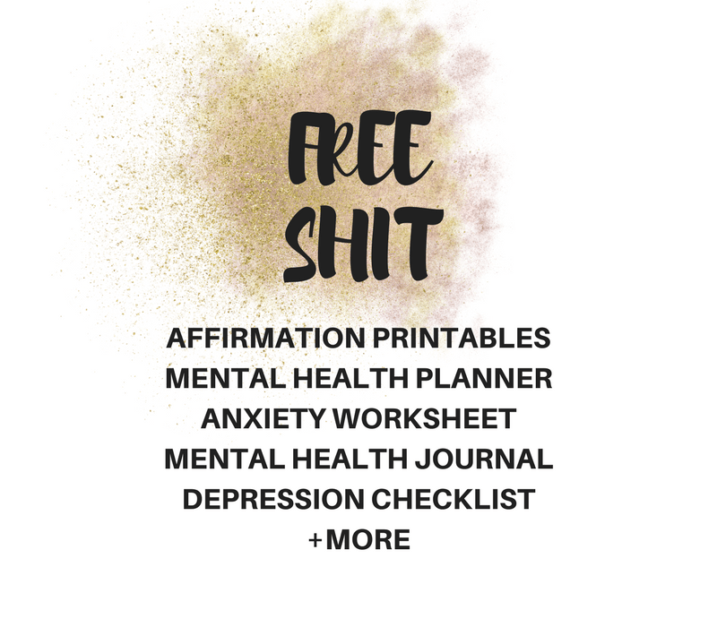 Mental Health Resources Printables 1 Radical Transformation Project
