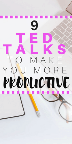 TED TALKS FOR PRODUCTIVITY