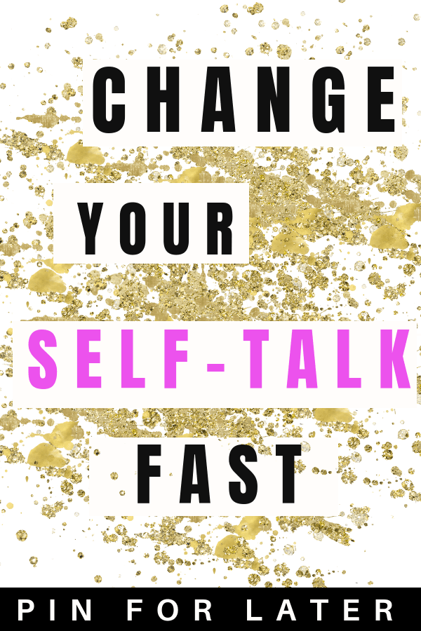 Change your self-tak to improve your mental health and start feeling better.