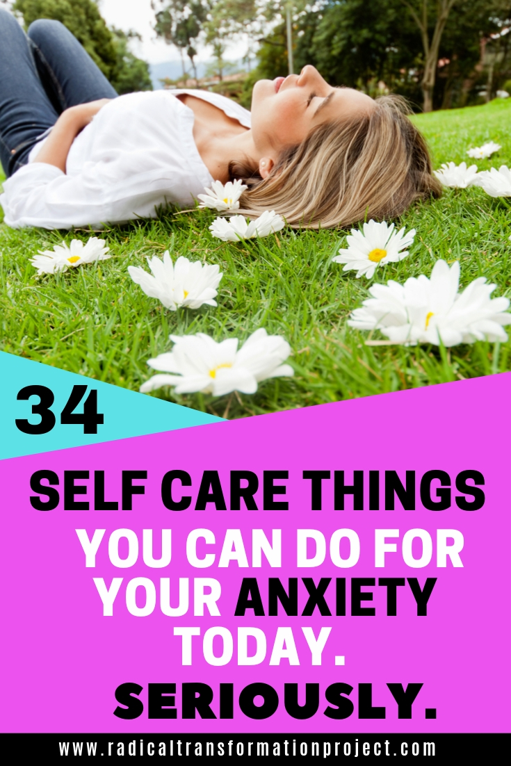 small things to care for anxiety feel better today