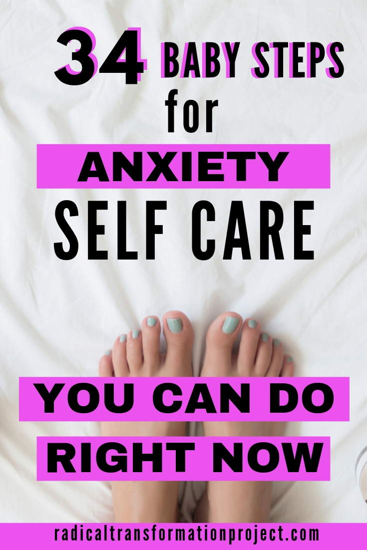 how to self care for anxiety