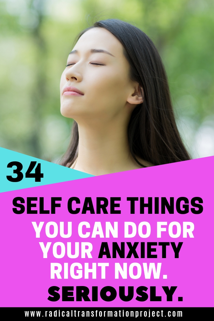 self care for your anxiety to feel better