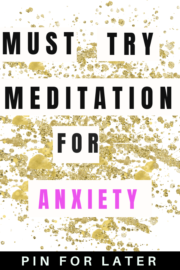 Meditation for anxiety and depression | guided meditation | beginner meditation | mental health | self-care