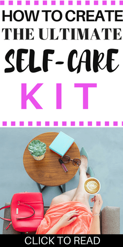 self-care kit for mental health | depression coping | self-help | healthy coping | anxiety kit | self-improvement
