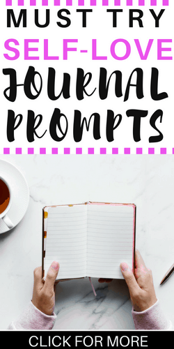 self-love journal prompts | confidence | self-care | mental health | journal prompts | journal ideas