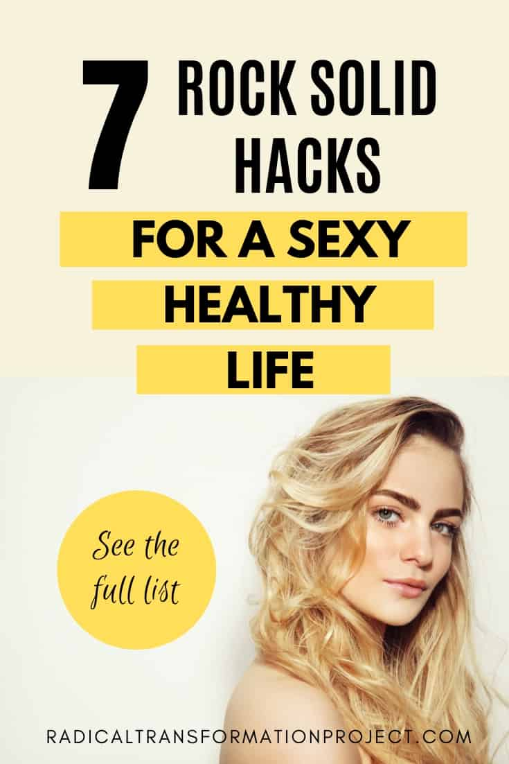 healthy living hacks