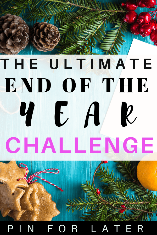 Check out this challenge for end of the year activities. Get inspiration for new years resolutions to become the best version of yourself. #newyears #last90days #challenge #selfhelp