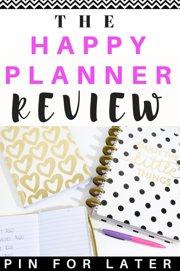 the happy planner review | planner | organization | productivity | planner ideas | tips | mental health