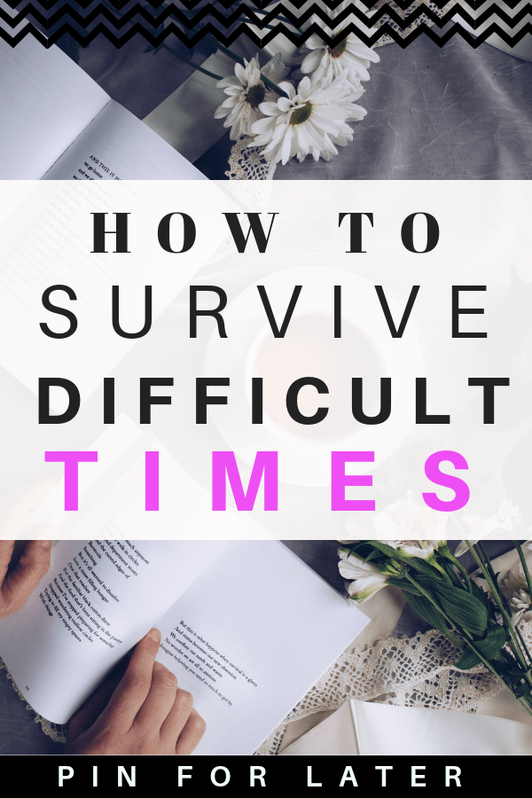 How to survive difficult times and what to do when you're unhappy with life #mentalhealth #happiness #depression