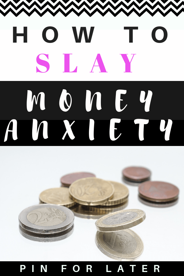 How I got over money anxiety, created a budget and started a no spend month #budget #debt #anxiety