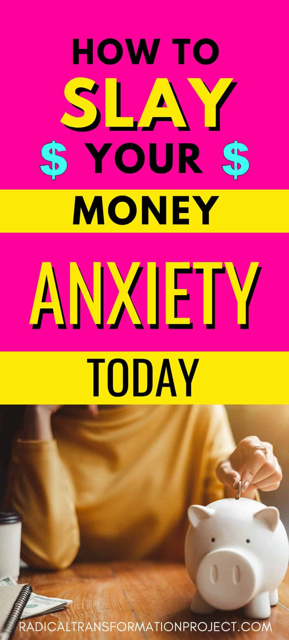 how to slay your money anxiety today