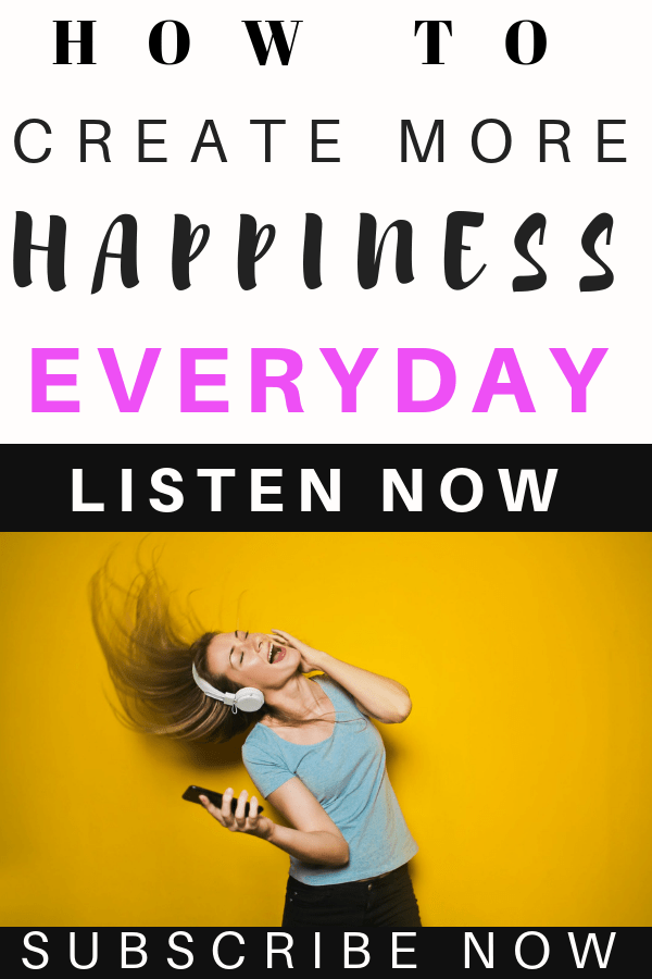 How to be happy and create more magic everyday #happiness #mentalhealth #podcast