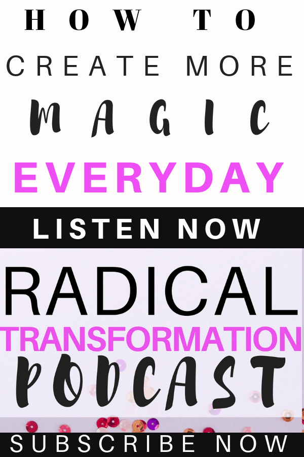 how to be happy and create more magic everyday