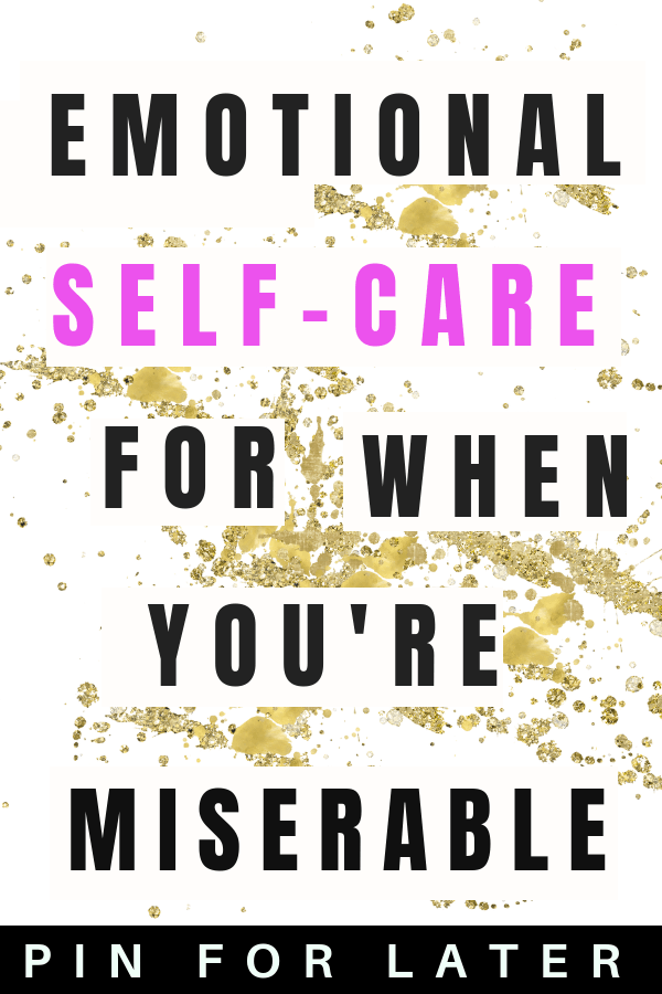 Emotional self-care for mental health