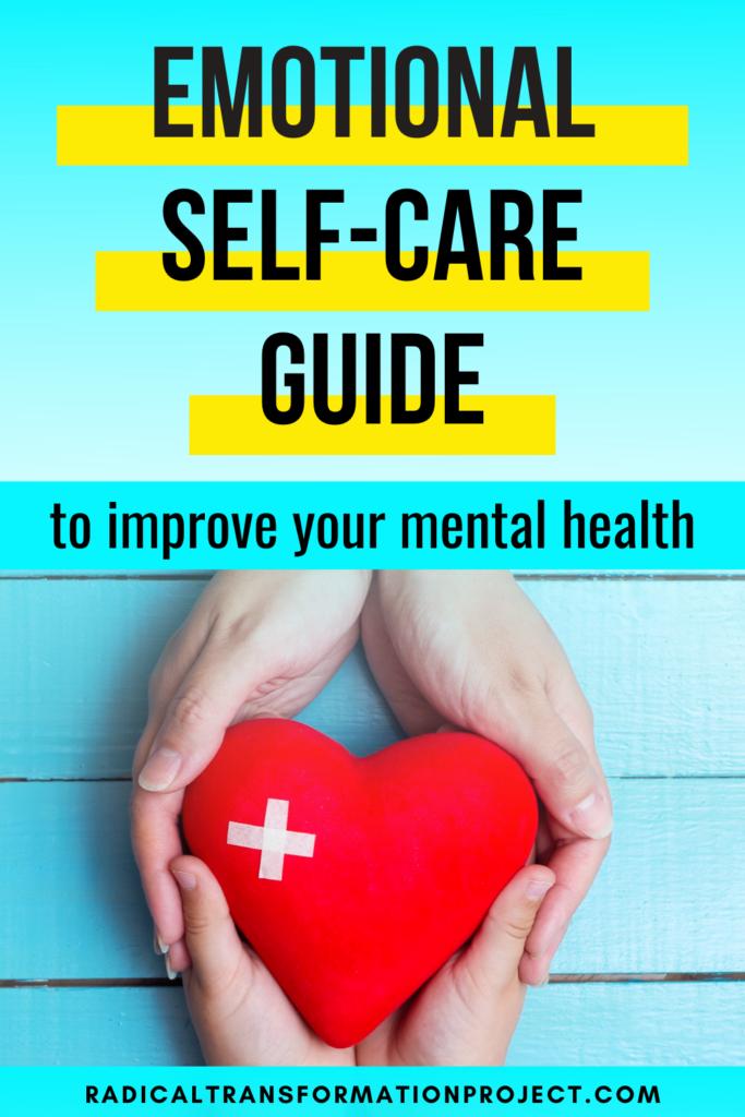 emotional self care guide