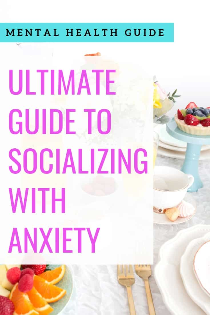 socializing with anxiety