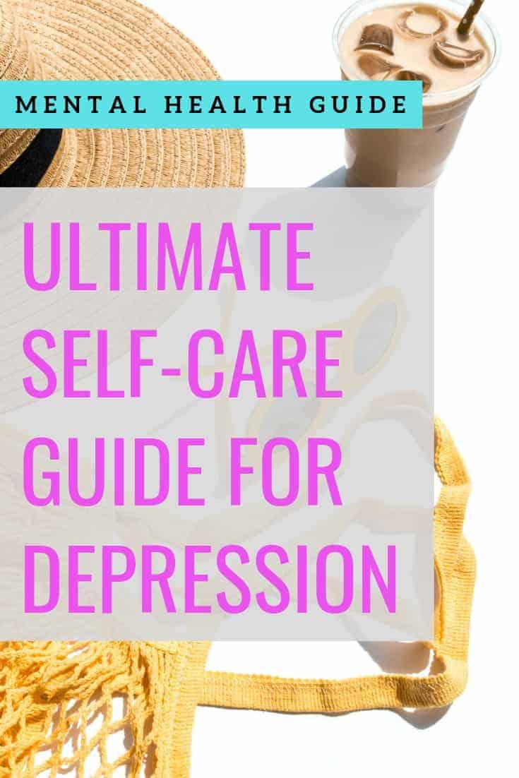 self-care for depression