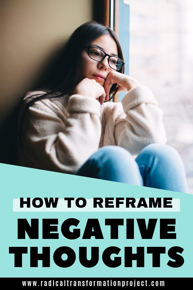 reframe negative thoughts