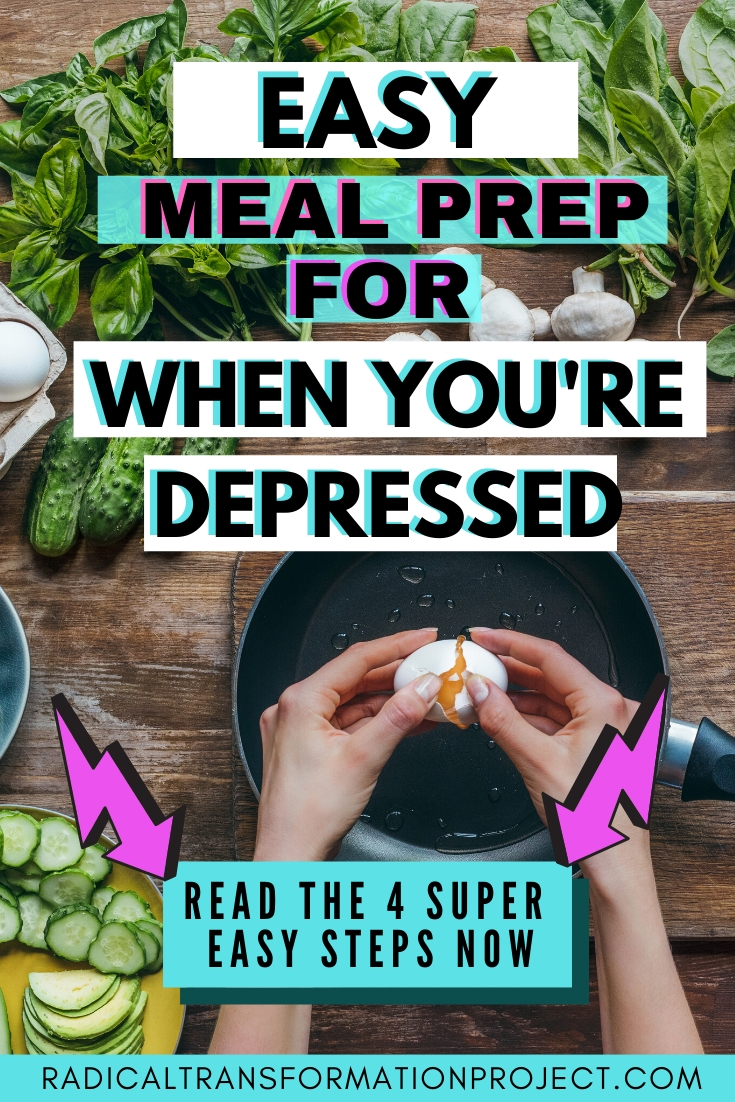 easy meal prep for when you're depressed