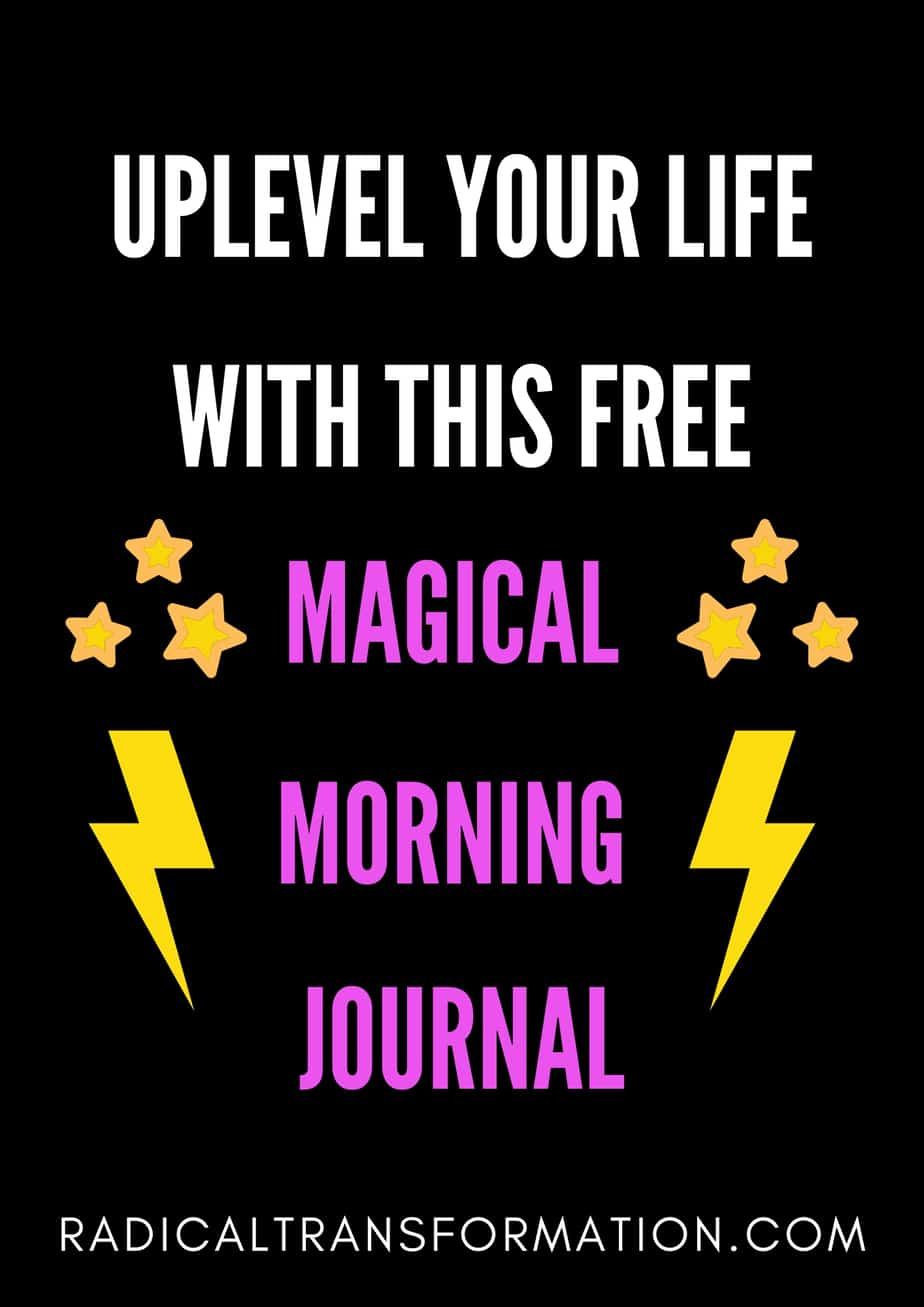 free morning journal prompt