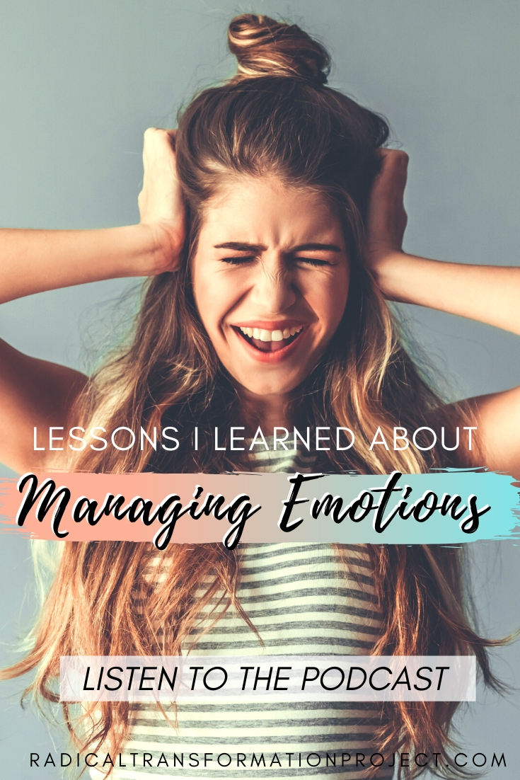 how to manage emotions