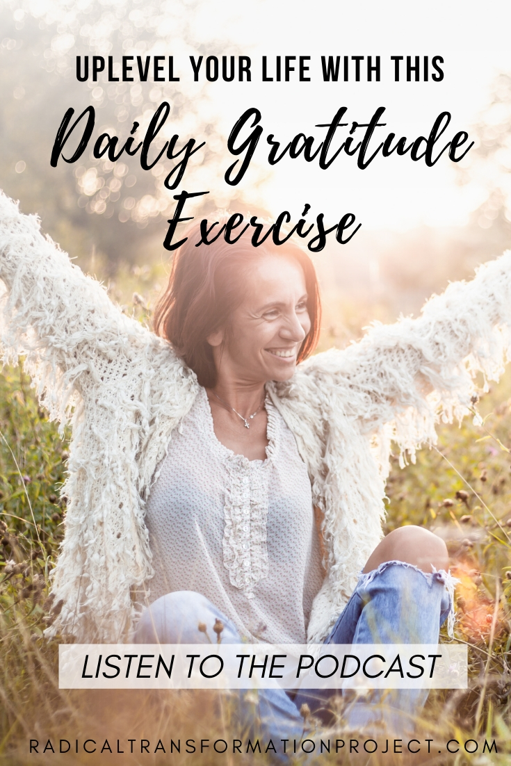 start a daily gratitude exercise