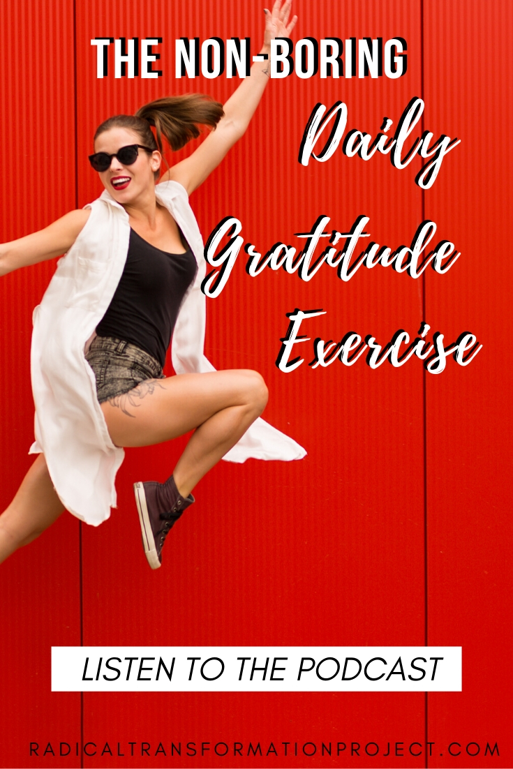 the best daily gratitude exercise