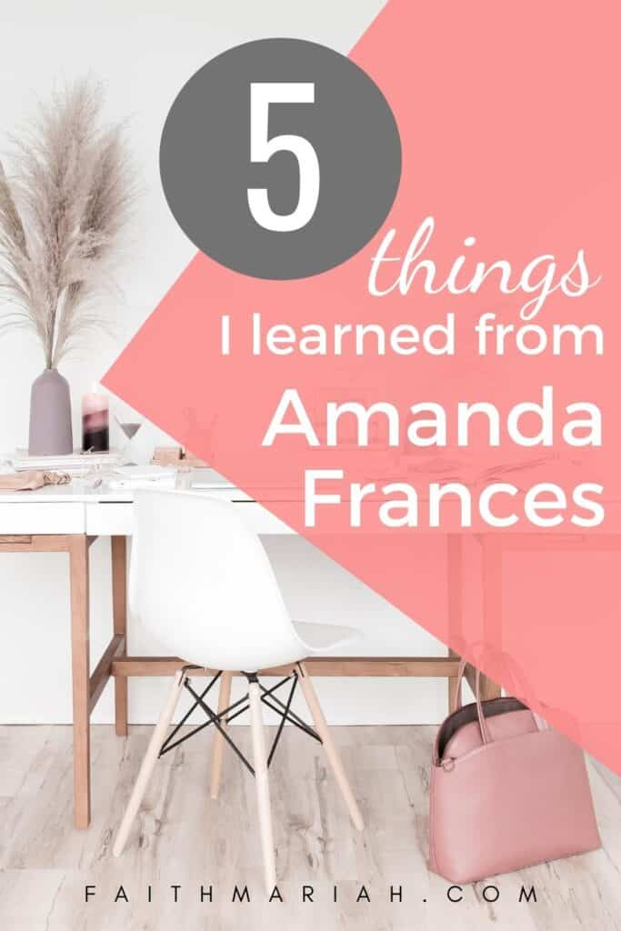 Amanda Frances money