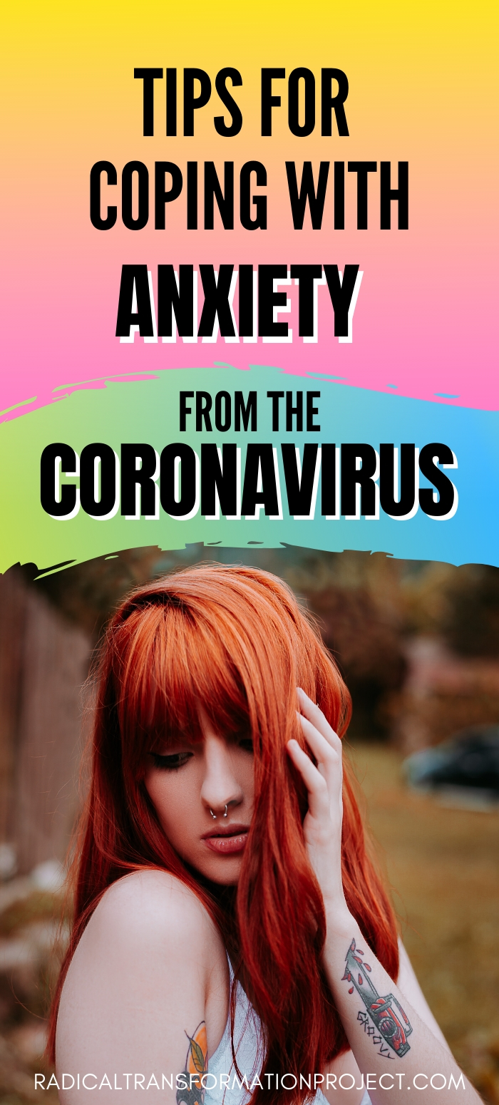 tips for coping with anxiety from the coronavirus